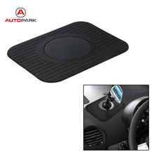Black Car Dashboard Sticky Pad Mat anti slip mat Gadget Mobile Phone GPS Holder Stand car accessories interior car-styling(China)