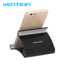 Vention Mobile Phone Holder For iPhone iPad Xiaomi Flexible Desk Phone Stand Universal Desk Holder For Huawei Samsung Tablet PC(China)