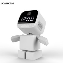 JCWHCAM Wireless Robot 960P IP Camera WIFI Clock Network CCTV HD Baby Monitor Remote Control Home Security Night Vision(China)