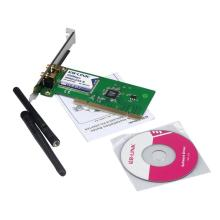Good Sale New 300M Wireless N PCI Card Cordless WiFi Network Lan 2 Antenna Adapter Apr 26