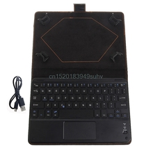 Bluetooth Wireless Keyboard Cover Case with Touchpad for 8 to 8.9 Inch Tablet PC #L059# new hot