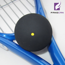 1pc FANGCAN FCA-09 one yellow dot squash ball professional training squash ball middle speed and durable