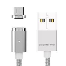 In Stock! Wsken X Cable Mini 2 Magnetic Charging Cable Micro USB For iPhone or Micro USB Smartphone Android