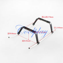 Free Shipping  In Stock 5pcs/Lots Landing skids for Syma  S031g 3.5ch Big metal Gyro helicopter