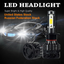 AUXITO 2x H7 H8 H11 H9 H13 H1 H4 9012 9007 9005 9006 9004 9003 Car LED Headlights Bulb Fog Lamp 16000LM All in one High Low Beam(China)