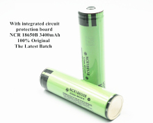 100% Original Protected 3.7v ncr 18650b 3400mah rechargeable batteries panasonic 18650 battery/flashlight/power bank - LiitoKaIa ExcIusive Direct Sales Store store