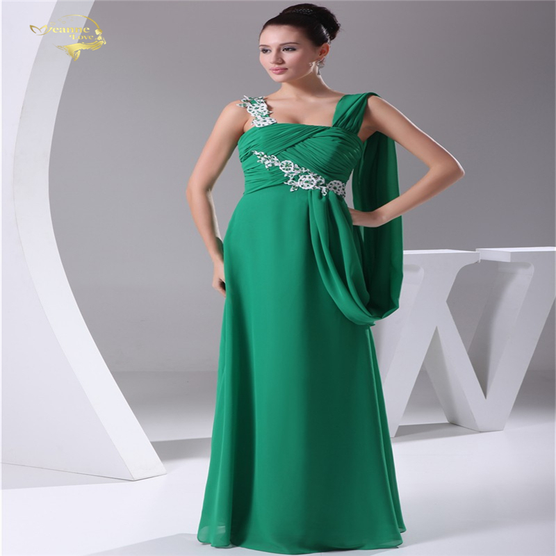New Arrival Fashion Design Vestido De Festa Formal Floor Length Long Event Dresses Beading Prom Chiffon Evening Dresses TL9013