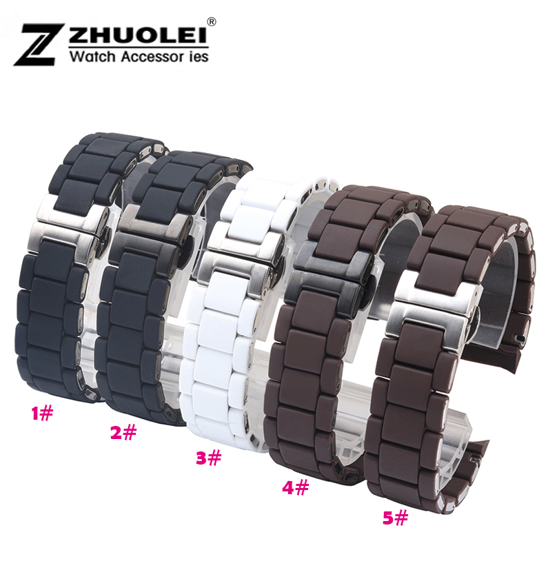 Watch band 23mm NEW Black Silicone Rubber Diver Watch Strap Band For Brand AR5867 AR5859 5954 5858<br><br>Aliexpress