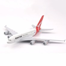 1:400 Scale Airbus A380 Air Plane Model Alloy Diecast Spirit of Australia Aircraft Model Kids Collections Toys