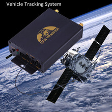 Universal Vehicle GPS Tracker GPS / GSM Position Terminal Temperature And Vehicle Speed Real Time Tracking System TK105B