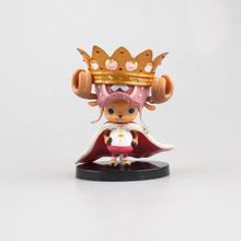10.5CM Japanese classic anime figure One piece Tony Tony Chopper Crown action figure collectible model toys for boys(China)