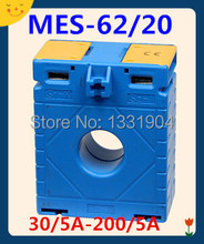 1.0 class MES-62/20 30/5A-200/5A  small current transformer low voltage current transformer, CT, CA, CP, window type, ring type