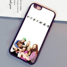 Popular Vikings TV  Printed Cell Phone Cases For iPhone 6 6S Plus 7 7 Plus 5 5S 5C SE 4S Soft Rubber Skin Back Cover Shell