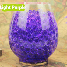 Purple Wedding Table Decoration Aqua Novelty Florist Vase Fillers Bulk Purple Crystal Soil Growing Crystals Water Beads 5000PCS