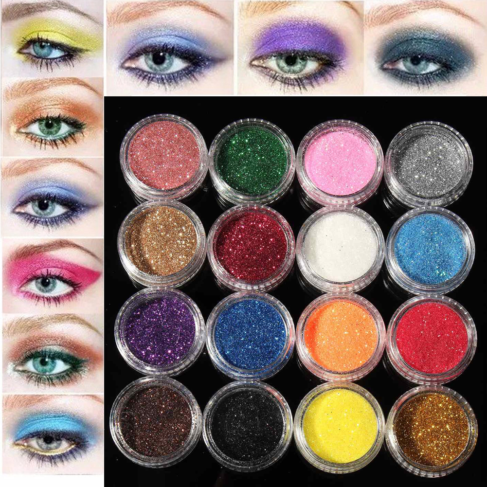 11.11 Promotion 12 24 48 60 colors make up eyeshadow pallete set Matt Powder Shimmer Mineral Cosmetic Set fshion eye shadow(China)