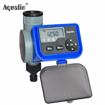 New  LCD Solenoid Valve Garden Water Timer Garden Irrigation Controller with Multifunction #21004A