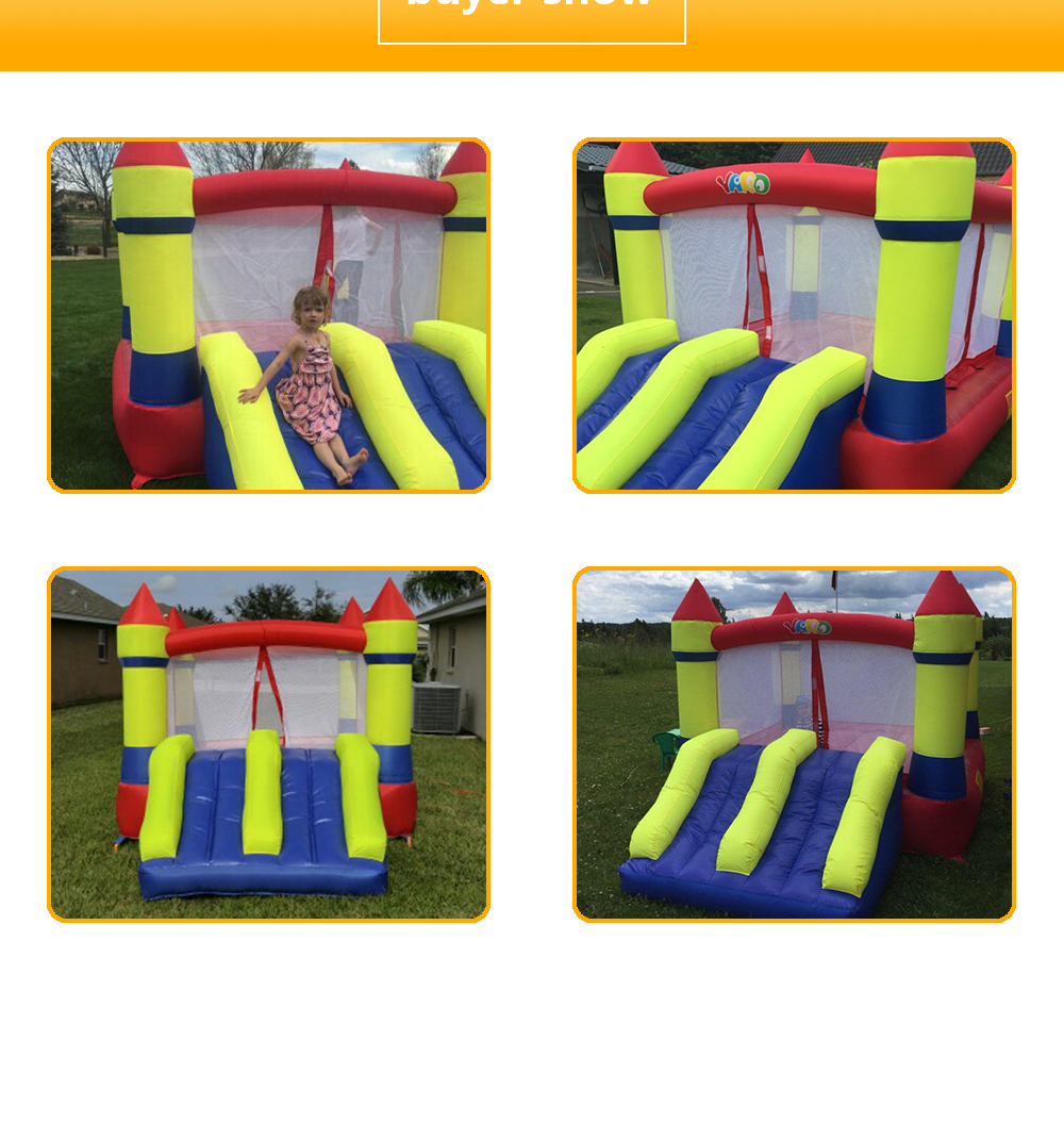 6008 inflatable bounce house castle  (4)