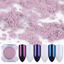 2g Mirror Pearl Powder Glitter Nail Art Dust Shining Mermaid Pigment Makeup Powder for Nail Decoration