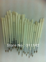 Wholesale Unique Syringe pens refills Black and Blue plastic ink refill 1.0mm 5000pcs/lot Free Shipping