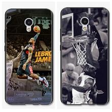 LeBron James Basketball star design plastic soft silicon cover case meizu u10 u20 E1 E2