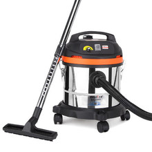 freeshipping Commercial powerful ultra-quiet household wet and dry vacuum cleaner 1300W power JN202-20L(China)