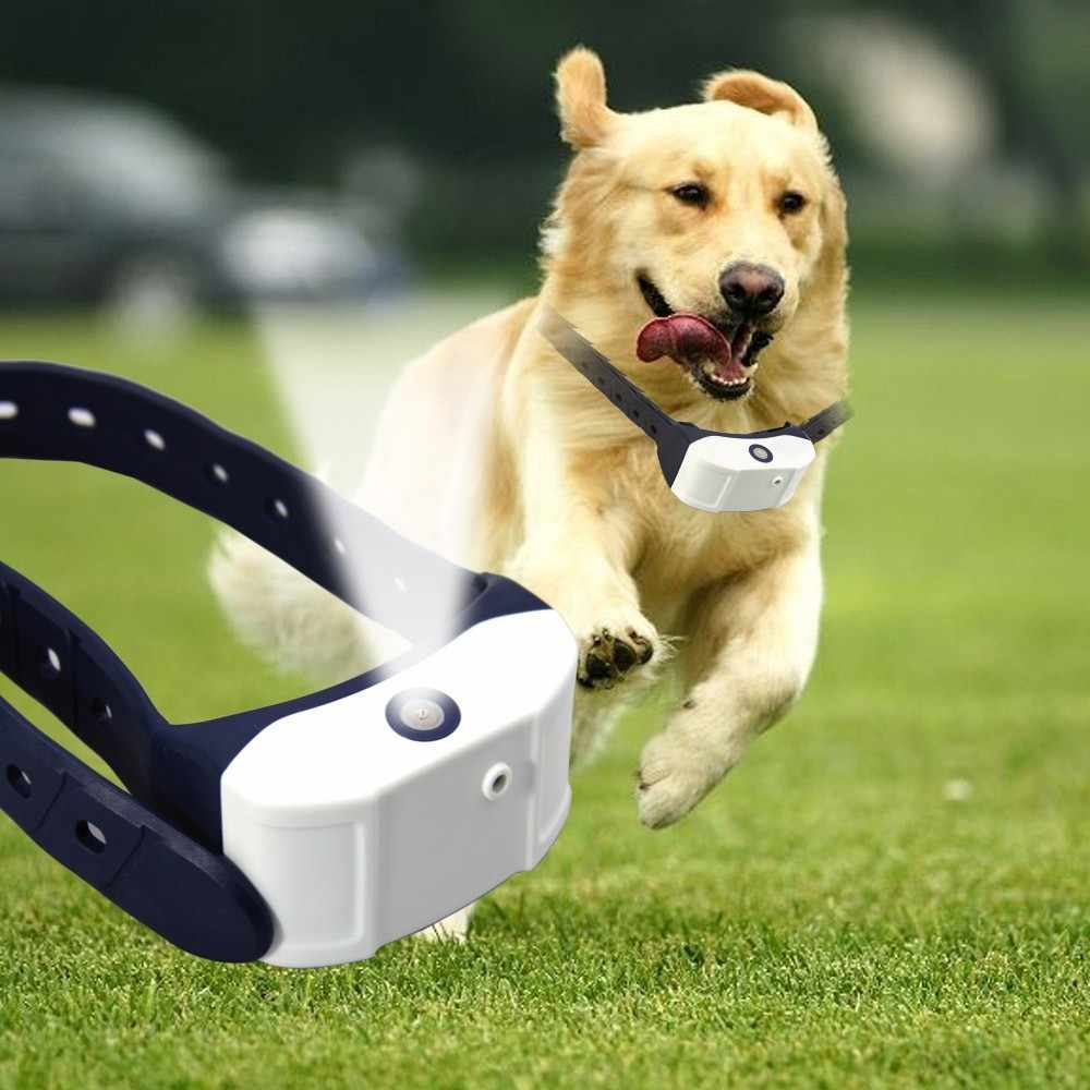 Rechargeable Spray Dog Training Collar Pet Citronella Bark Control No Barking Collar Professional Pets Training Tool Trainer
