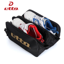 Etto Portable Sports Bag Waterproof Training Outdoor Soccer Boot Sports Gym Shoes Tote Bag Running Fitness Bags Men Women HAB003(China)