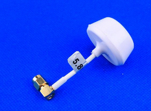 90 Degree 5.8 GHz Circular Polarized Transmitter Antenna for Phantom - White, RP-SMA Plug