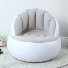 Inflatable sofa beanbag chair folding single creative adult bedroom living room sofa, BIG SIZE FOR ADULTS, 85 x 85 x 74cm