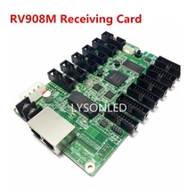 LYSONLED Linsn RV908 RV908M32 Led Video Display Receiving Card 12xHub75 Ports Support P2/P2.5/P3 Indoor 1/32 Scan LED Module