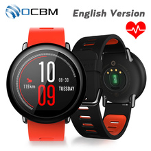 [English Version] Original Xiaomi Huami Amazfit Sports Smart Watch Bluetooth WiFi 512MB/4GB Dual Core GPS Heart Rate Monitor
