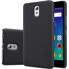 Lenovo Vibe P1m 5 inch phone case cover NILLKIN Super Frosted Shield back cover case with free screen protector +Retail package(China)