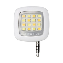 Mini Spotlight Smartphone LED Flash and Fill-Light For Apple iPhone 6 5 4 and iPad Mini 2 3 4 Air 2, LED light Speedlite for iPa