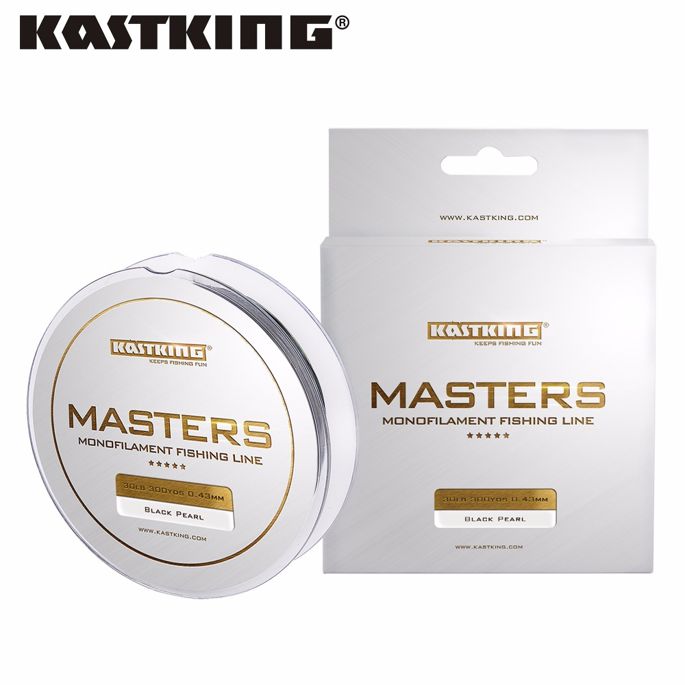 KastKing Master 7 Colors 274M Nylon Fishing Line Japan Material Carp Fishing Wire Cable Monofilament Line 0.18-0.48mm(China (Mainland))