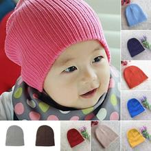 Baby Cap Cute 10 Candy Colors Baby Hat For Girls & Boys Elastic Baby Hats Beanie New Toddler Children Hat(China)