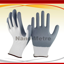 NMSafety Industry Glove With 13 Gauge Seamless Knit Nylon Nitrile Coated Work Gloves(China)