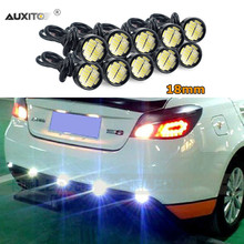 AUXITO 10x Car LED Eagle Eye Daytime Running Light 18MM 23MM 4014 LED For Toyota Corolla Avensis Yaris Rav4 Auris Hilux Prius(China)