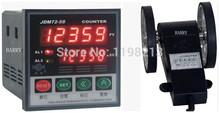 Wire length counter 5-digital length measurer wheel meter JDM72-5S + LK-90-1 digital couters(China)
