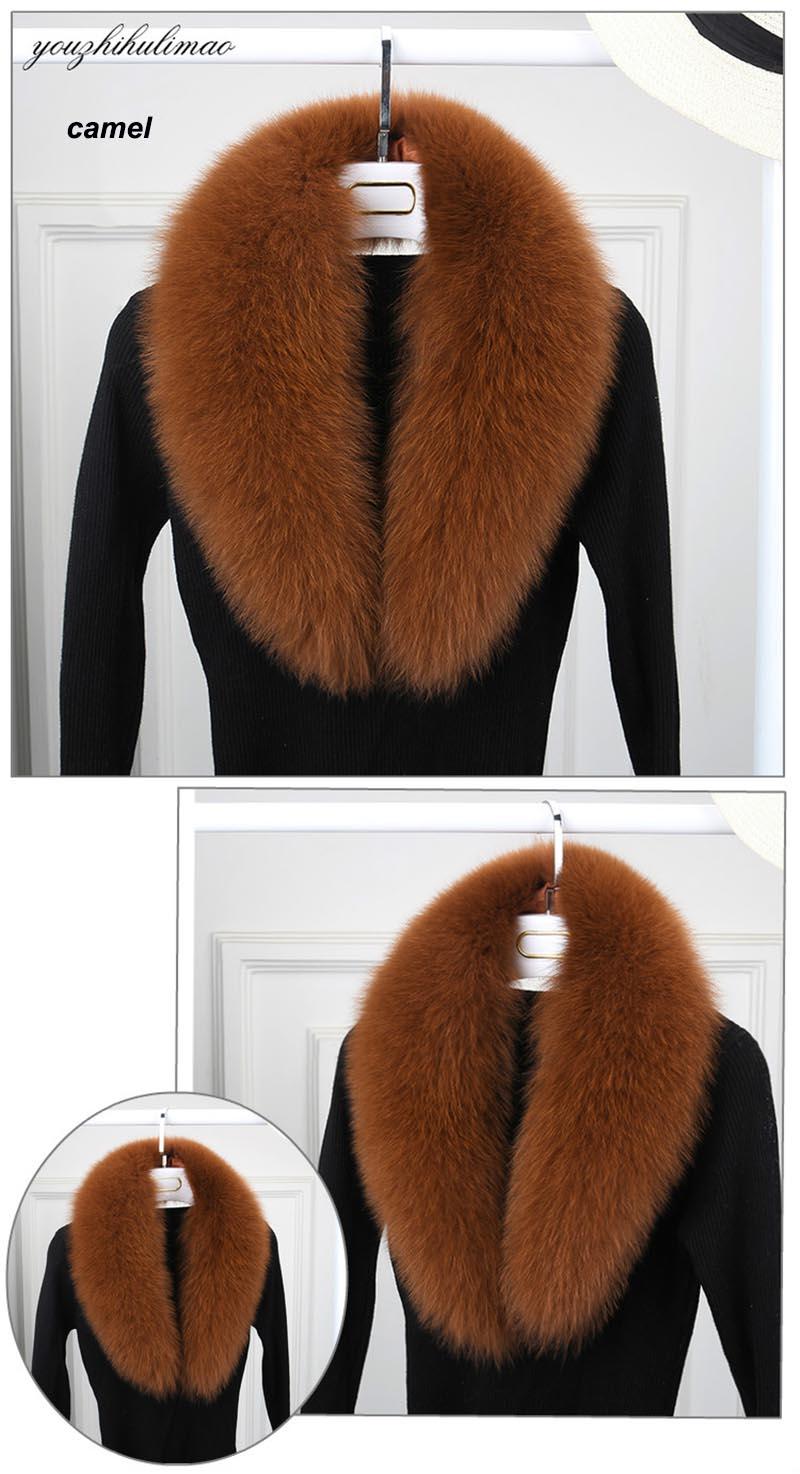 fox fur collar camel