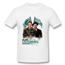 Men's Macklemore & Ryan Lewis T-Shirt- White(China)