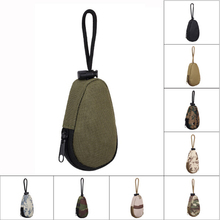 4inch Outdoor Mini Carry Bag Wear-proof Portable Camouflage Type Mult-purpose Key Change Purse Travel Camping Riding Nylon(China)