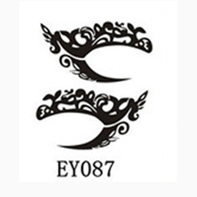 Lace Eyeliner Stickers New International Fashion Designs Chosen Eye Body Art Temporary Tattoo Stickers Eye Liner DIY Decorations(China)