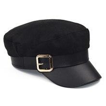 Las mujeres de los hombres de moda gorra de boina de unisex caliente del  invierno sombreros 6f64a9c785d