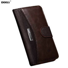 For Sony Xperia XA1 Case Original Luxury PU Leather Covers Wallet Mobile Phone Bags Cases for Sony XA1 5.0 inch IDOOLS Coque(China)