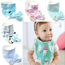 Toddler Kid Bunny Ear Teething Ring Toy & Baby Drool Bib Bandana Set Shower gift(China)