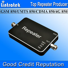 2016 HOT Repeater GSM 850 Cell phone Booster 3G UMTS 850MHz Amplificador De Sinal Celular 65dBi Mobile Phone Signal Repeater S29