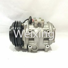 AC compressor 10P25B bus 24v for Hino Rainbow TYT Coaster PV2 147100-4210