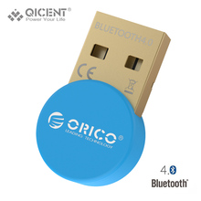 QICENT BT406 Mini USB Bluetooth Adapter CSR 4.0 Portable Bluetooth 4.0 Adapter 3Mbps for Win 7/8/10