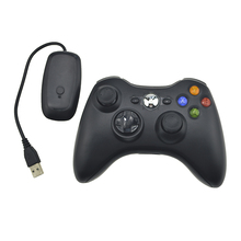 2.4G Wireless Remote Controller For Xbox 360 Computer With PC Receiver Wireless Gamepad For Xbox360 Joystick Controle Controller(China)