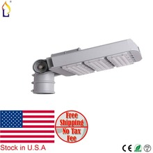 USA warehouse stock 80/150/200/250W outdoor led road Community Garden street light  with 3030 meanwell driver IP65 3pcs/lot